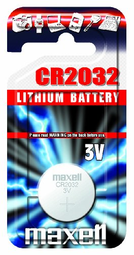 Maxell CR2032 Batterie 3V