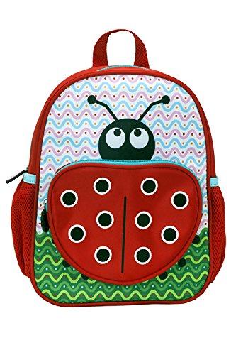 Rockland Jr. Kids' My First Backpack, Ladybug, 12.5-Inch