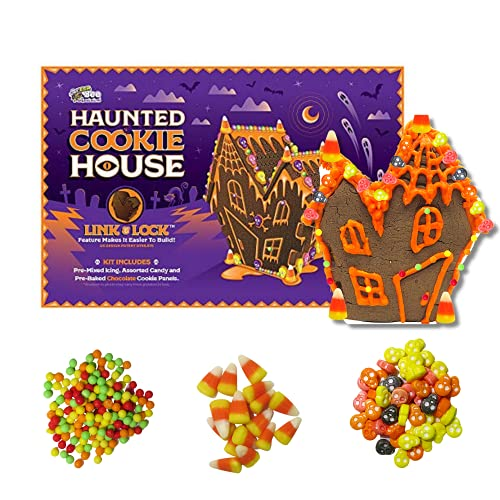 Halloween Bee Gingerbread Haunted Cookie House Kit - 28 Ounce Box