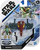 Star Wars Mission Fleet Gear Class- Boba Fett is Out to Track The Millennium Falcon! Contains Figure, vechile, Jetpack and Accessories