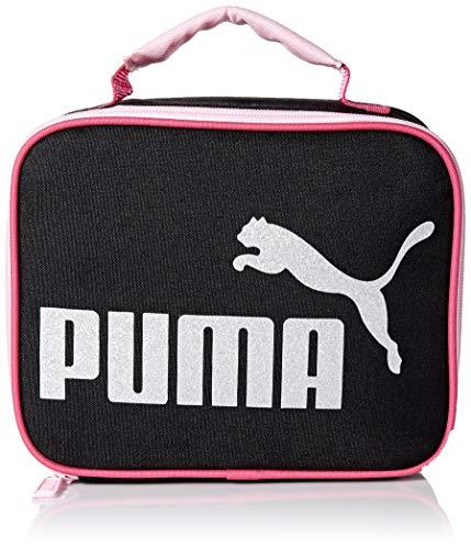 PUMA Girls' Big Evercat MVP Lunch Box, black/Pink, Youth Size