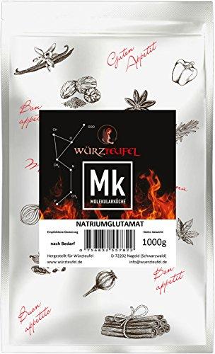 Glutamat, Natriumglutamat, Mononatriumglutamat Geschmacksverstärker E621. Beutel 1000g.