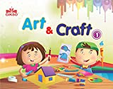 Gikso Art and Craft 1 – Activity Book for Kids Age 4 to