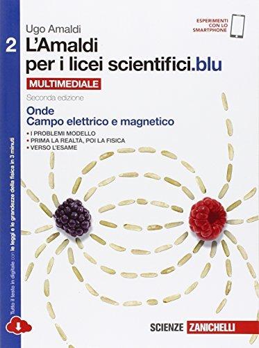 Kit libro scolastico AMALDI 2 X LICEI SCIENTIFICI.BLU + copertine (9788808937391)