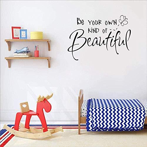 Los murales de pegatinas de pared son tu propio tipo de hermosa decoración del hogar Pvcs para dormitorio 63.5Cm * 45.7Cm