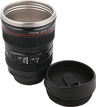 Skyfish® Camera Lens Mug,Stainless Steel Travel Thermos Camera Lens Coffee Tea Cup (24-105 mm) 200 ML
