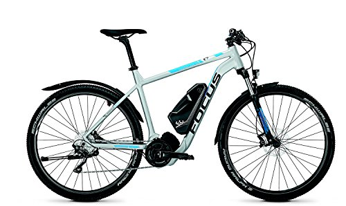 Focus International - Bicicletta elettrica Crater Lake Impulse 2.0, misura: XL, colore: blu