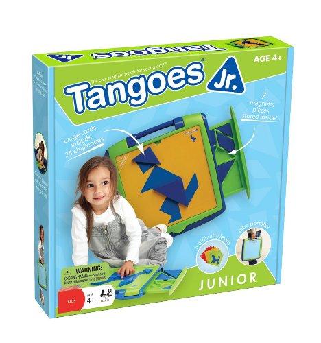 Smartgames–Tg jrt001–Gesellschaftsspiel–Tangoes Jr 120Herausforderungen