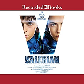 Valerian and the City of a Thousand Planets cover art