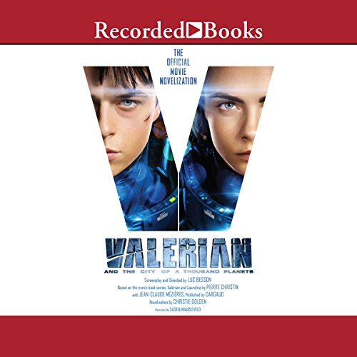Valerian and the City of a Thousand Planets audiobook cover art