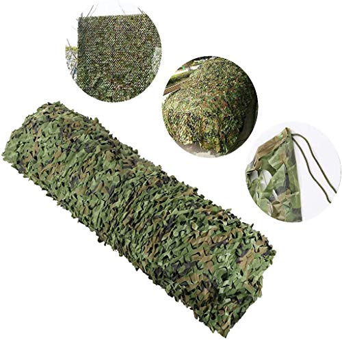 Camouflage Bulk Camouflage Military Decorative Shade - Holiday Partij Decoratie Jungle Blad Camouflagenet For Militair Voertuig Zonnescherm Met Slinger Zomerkamp Sport (Size : 3m×10m)