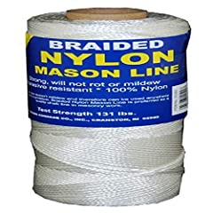 Strong and durable Rot and mildew resistant Used as chalk line, fishing line, net repairs, etc. 100% Nylon fiber Break Strength 131 lbs