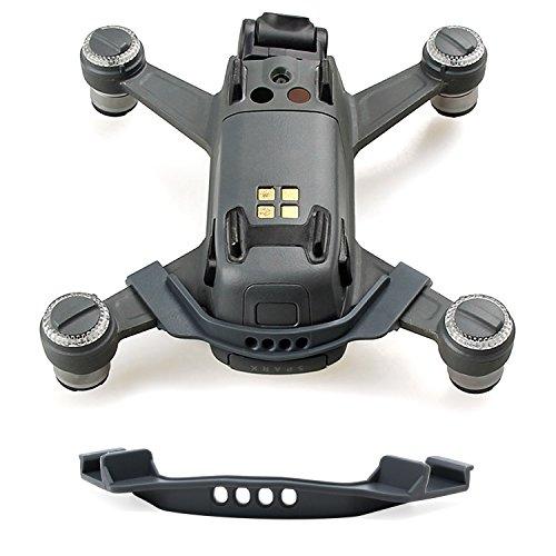 KEESIN Batteria anti-allentamento fibbia clip titolare batteria anti-spargimento fibbia copertura per DJI Spark Drone (grigio)