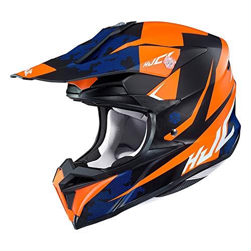 Preisvergleich Produktbild HJC 8804269584446 Helmet Tona Black / ORANGE M