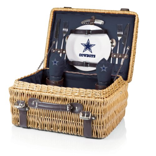 Dallas Cowboys Picnic Gift Basket