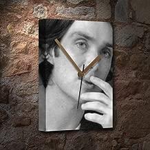 Seasons Cillian Murphy - Canvas Clock (A5 - Signed by The Artist) #js003