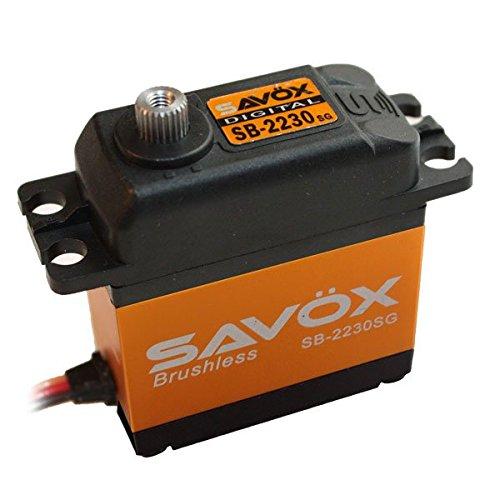 SERVO SDT SAVOX SB-2230SG BRUSHLESS 42KG.CM/7,4V