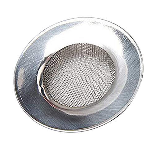 Color Yun Colador de Fregadero para tapón de Ducha, colector de Pelo, fregaderos de baño o Cocina, desagüe de Fregadero de Acero Inoxidable de 7,5 cm