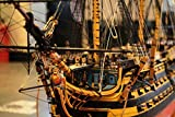 HMS Victory 1805 54.5' Scale 1/72 1385mm Wood Model Ship Kit