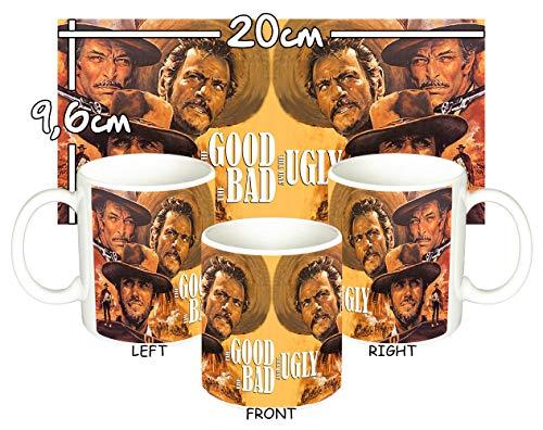 EL Bueno, EL Feo Y EL Malo The Good, The Bad and The Ugly Clint Eastwood B Tasse Mug