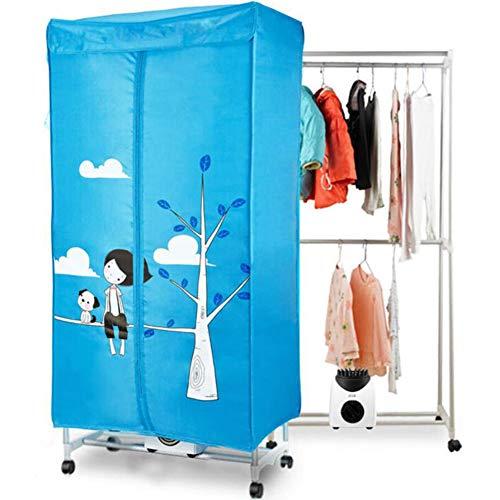 HKDJ-900W elektrische wasdroger, grote capaciteit 10 kg, energiezuinige wasmachine voor nat wassen binnenshuis warmlucht drooggarderobe, perfecte oplossing om het drogen van wasgoed te versnellen.