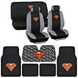 BDK Batman Car Seat Covers Gift Set - Officially Licensed Warner...