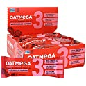 12-Count Oatmega Protein White Chocolate Raspberry Bars