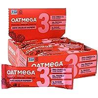 12-Count Oatmega Protein White Chocolate Raspberry Bars