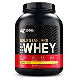 Optimum Nutrition ON Gold Standard 100% Whey Proteína en Polvo, Glutamina y Aminoácidos Naturales,...