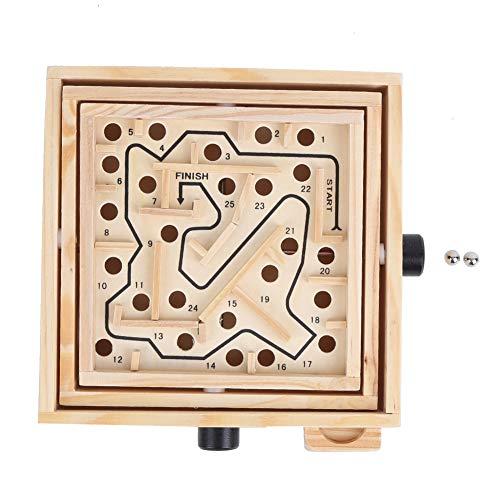 Juguetes de tablero de laberinto de madera, balanzas para niños tablero de laberinto de bolas, juego de tablero de laberinto para niños juegos educativos de habilidades motrices (#1)
