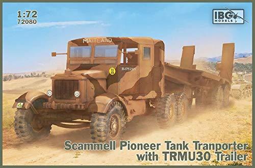 IBG 1/72 イギリス軍 スキャンメルパイオニア戦車運搬車 + TRMU30トレーラー プラモデル PB72080