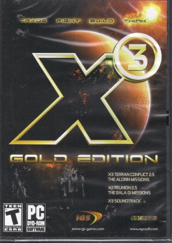 Photo of X3 TERRAN CONFLICT GOLD EDITION