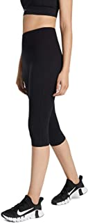 Rockwear Activewear Women's 3/4 Seam Detail Tight Black 14 from Size 4-18 for Bottoms Leggings + Yoga Pants+ Yoga Tights