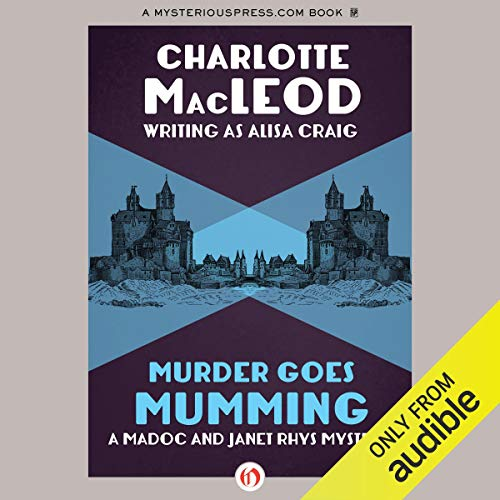 Murder Goes Mumming audiobook cover art