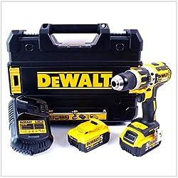 DeWalt Akku-Schlagbohrschrauber Li-Ion BL 18 V 5,0 Ah, DCD795P2-QW