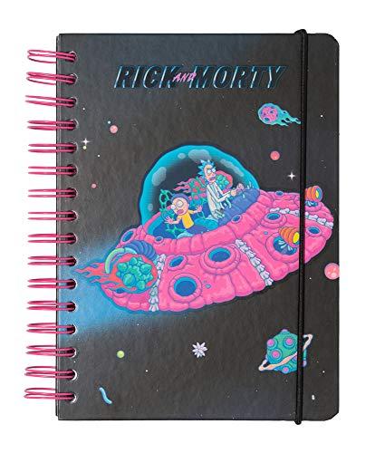 ERIK - Cuaderno de notas A5, Bullet Journal Rick & Morty (15,6x21,6 cm)