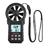 CAMWAY Digital Anemometer Wind Speed Meter Multifunction Anemometer Air Volume Meter Air Velocity