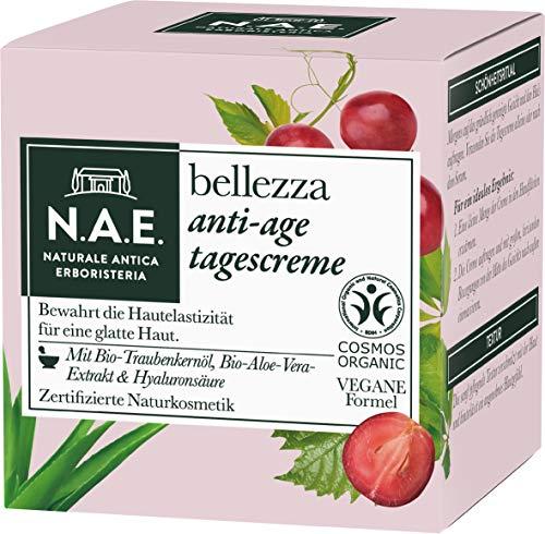 N.A.E. Naturale Antica Erboristeria bellezza Anti-Age Tagescreme, COSMOS Organic zertifiziert & vegane Formel, 1er Pack (1 x 50 ml)