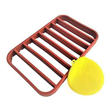 Roasting Rack for Pan - Oven Rack | Baking Rack for Oven Use - Roast Rack Nonstick - Red by STAN BOUTIQUE