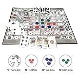 chivalrylist Poker Set- Gioco da Tavolo Modello di Scacchiera Grande Gioco di Sequenza Ing...