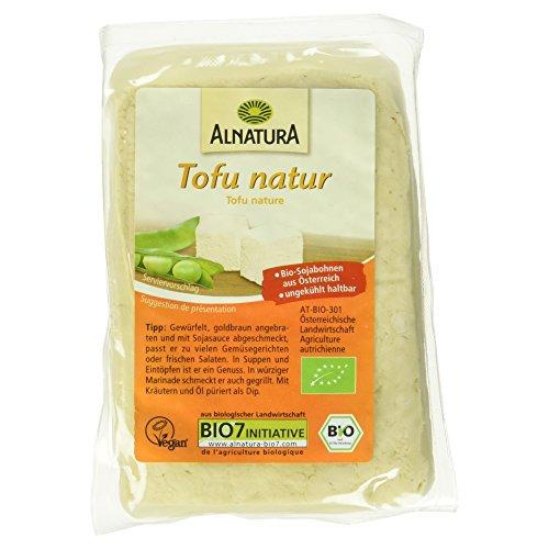 Alnatura Bio Tofu Natur, vegan, 6er Pack (6 x 200 g)