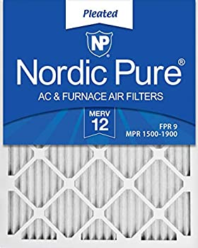 6-Pack Nordic Pure 16x20x1 MERV 12 Pleated AC Furnace Air Filters