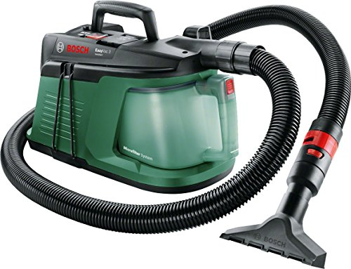 Bosch 06033D1070 EasyVac 3 Compact Dry Vacuum Cleaner, Green