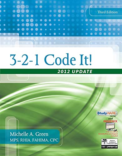 3-2-1 Code It!: 2012 Update With Premium Website Printed Acess Card (Flexible Solutions - Your Key to Success)