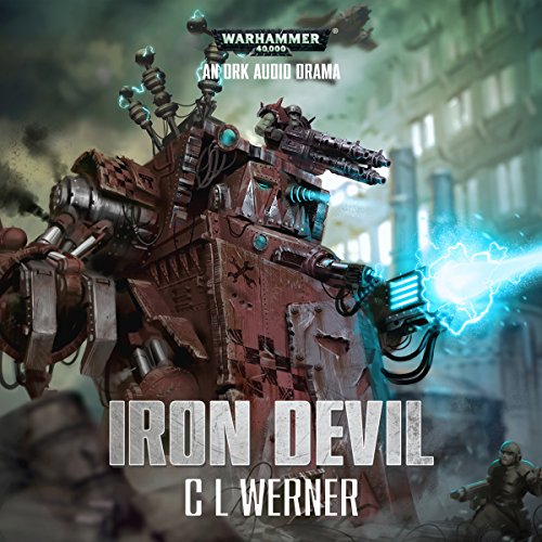 Iron Devil audiobook cover art