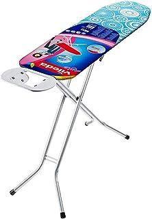 Vileda Universal - Tabla de planchar plegable, pequeña y estable, soporte resitente para plancha, con altura regulable, me...