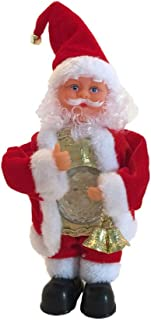 Electric Santa Claus Doll, Elevin(TM) Christmas Dolls 2019 Christmas Electric Dancing Music Santa Claus Doll