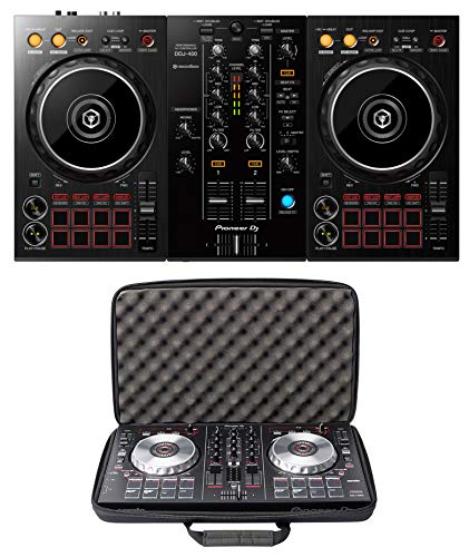 Pioneer DJ DDJ-400 + Magma MGA47998 CTRL Case Bundle Deal