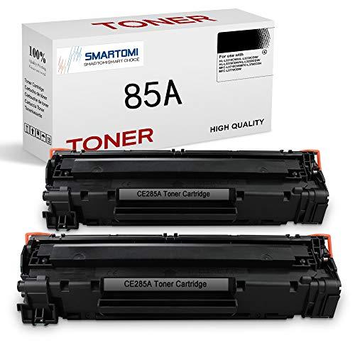 SMARTOMI CE285A 85A Cartucce Toner Compatibili per HP CE285A 85A per HP LaserJet Pro P1102W P1102 P1005 P1100 P1006 M1132 M1212nf M1136 M1130 M1217nfw, Canon LBP3010 LBP6000