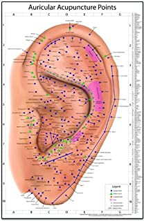 Best ear acupuncture points chart Reviews